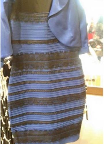 Vilken färg ser du? Prova att titta på den med helt öppna ögon och prova sedan att kisa så mycket du kan. Ändrar den färger?